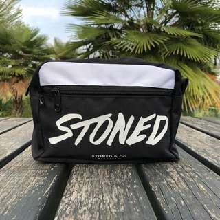 Stoned & Co Clutch Bag / Black