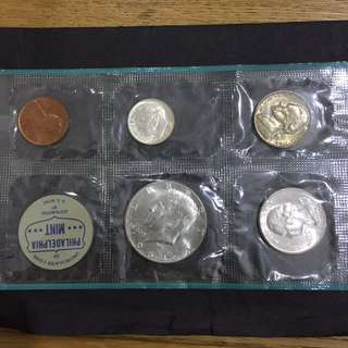 USA 1964 Mint coin set
