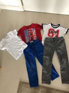 Boys Clothes 5-6 yrs