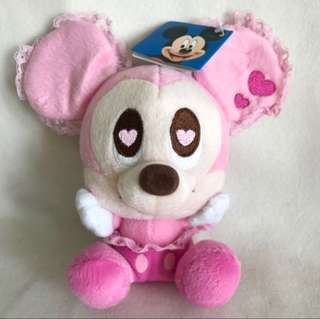 Brand New Disney Sega Minnie Mouse in Love with Disney tag.