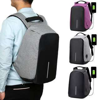 Anti Theft Backpack 🎒 Mens Comfy Big Anti Theft Backpack School Office Bag BEST Price Best QUALITY :)