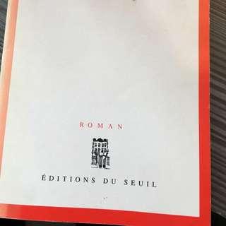 French novels books literature