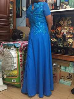 Long formal gown
