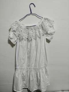White dress( wear once)