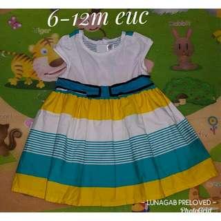 6/12m dress