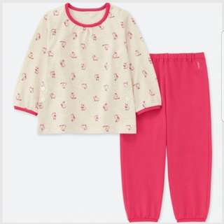 ⚡CLEARANCE⚡BN Uniqlo Long Sleeve Baby Pyjamas