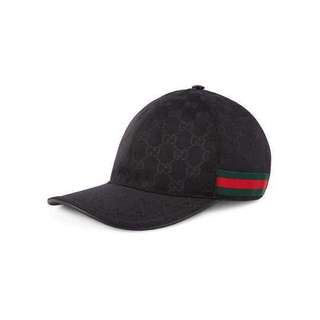 Gucci black cap