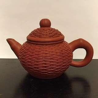 早期小竹簍壺