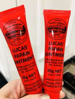 Lucas Papaw ointments (Salep serbaguna)