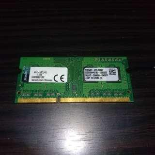 手提電腦記憶體 ddr3 4gb ram