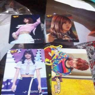 Twice Momo Cards