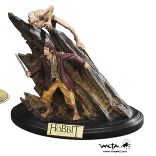 The Hobbit Trilogy Extended Collectors edition bluray giftset with statue | 9 discs bluray