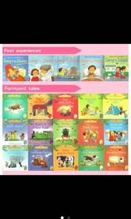 Usborne First Experience + Farmyard Book