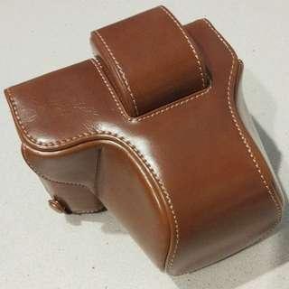 Olympus Pen E-PL7 Leather Case