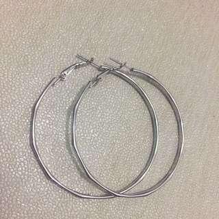 Big Circle Ear Ring