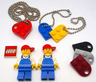Lego 鎖匙扣 頸鍊 Key Holder 手飾 手鍊 飾物