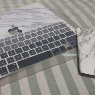 Macbook air case ip6+ case keyboard cover 殼