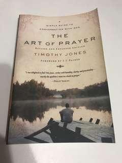 BRAND NEW The Art of Prayer by Timothy Jones