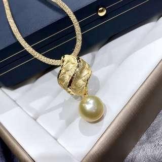 日本精工 925銀製品 11~12mm南洋金珠 橢圓形