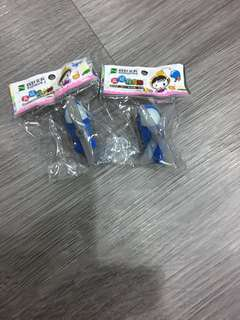 Helicopter erasers