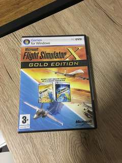 Flight Simulator X Microsoft Gold Edition