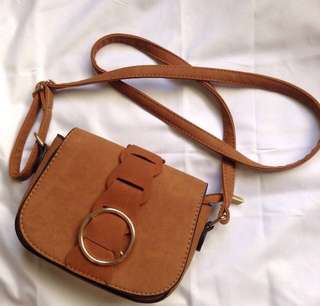 FREE SF Brown Satchel Bag