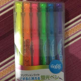 FRIXION NEON HIGHLIGHTERS