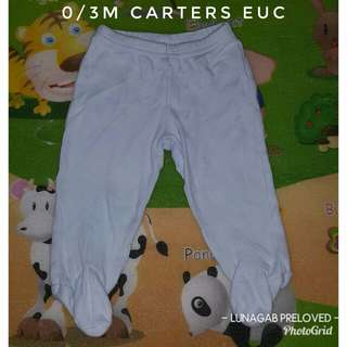 0/3m footed pajama