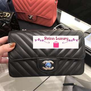 """Limited NEW Preorder: CHANEL """"MINI"""" Rectangle Exclusive from Europe*** Limited Edition***"""