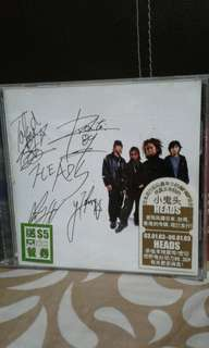 Cd  Japanese Heads  小鬼头  Autographed    Pickup hougang buangkok mrt Or add $1 for postage