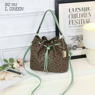 Bonia Sling Bag Mint Green Color