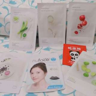 Masker mask sheet innisfree my real squeeze mask