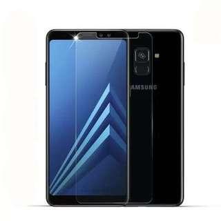 Samsung Galaxy A8+ A8 Plus 透明鋼化防爆玻璃 保護貼 9H Tempered Glass