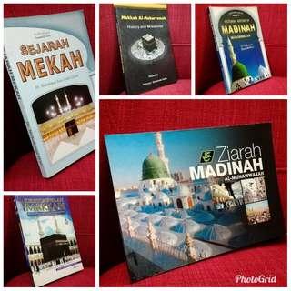 4 buku + 1 booklet