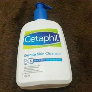 Cetaphil cleanser 60 ml dengan botol. Harga pas no barter!