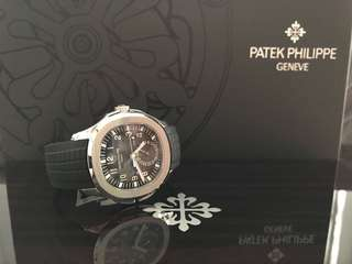 Patek Philippe Aquanaut Travel time 5164A for sale