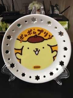 布甸狗陶瓷碟