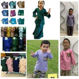 Baju Melayu Kanak kanak