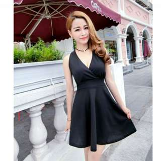 🚚 氣質黑色洋裝