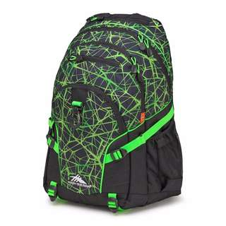 High Sierra Loop Unisex Printed Backpack - Green/ Black : SRP of 70$ US ( 3,600Php+ )