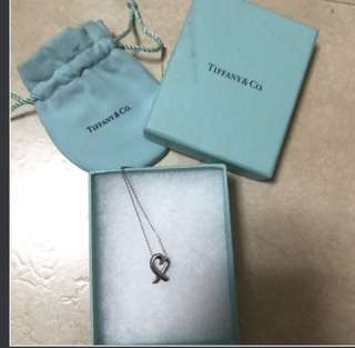 Tiffany & Co Necklace (Loving Heart Pendant)