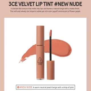 Free Shipping! 3CE Velvet Lip Tint