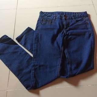 Denim Style Pants