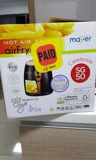 Mayer air fryer