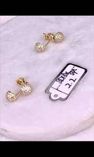 18k earrings