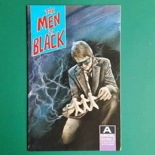 The Men in Black No.3 comic