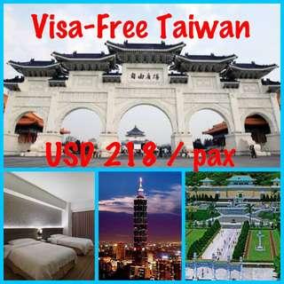 Visa-Free Taiwan! 😎