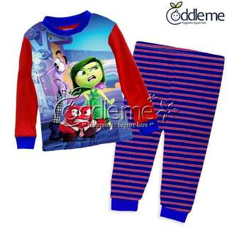 BN boy girl unisex pj pyjama clearance size 1,2,4,5,6 ready stock