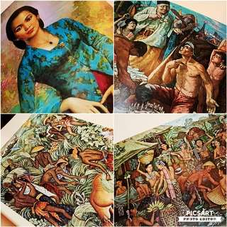"1964 ""Paintings & Statues from the Collection of President SUKARNO"" (Book 3), LEE MAN FOONG, Artist-Painter from the Presidential Palace of Indonesia. $88 offer, sms 96337309."