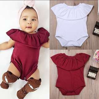 PO-free mail- Sweet sleeveless jumpsuit rompers cute for newborn infant baby